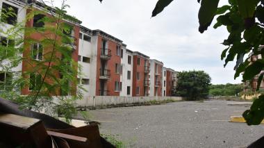 Conjunto residencial Altos del Campo, del que fueron evacuadas 168 familias.