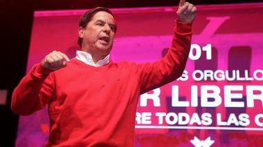 El exministro del Interior Juan Fernando Cristo.