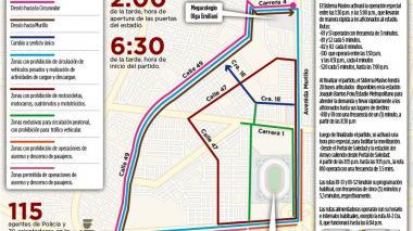 Puertas del 'Metro' abren a las 2 p.m.