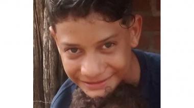 Jesús David Cueto (13 años), muerto de un tiro.