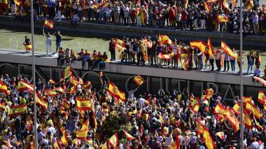 Seis protagonistas del conflicto político catalán
