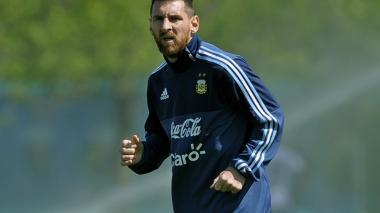 El astro Lionel Messi.