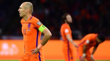 Holanda pierde clasificación al Mundial Rusia 2018