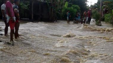 Se desborda de nuevo  el río Sinú en Lorica