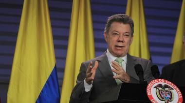 Santos aseguró que el país es serio y responsable en materia económica.