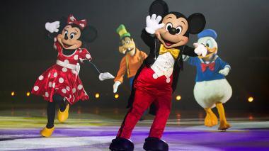 Imagen del 'show' de Mickey y sus amigos.