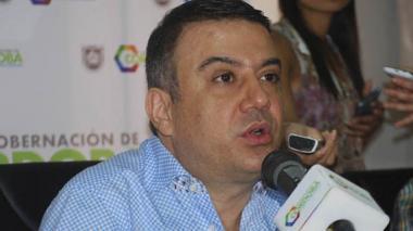 Gobernador Besaile desmiente rumores de su renuncia