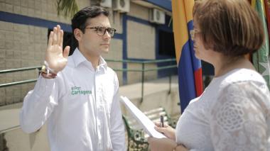 Sergio Londoño asume por tercera vez como alcalde (e) de Cartagena