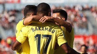 Villarreal vence 2-1 a Girona, con Bacca desde el minuto 56