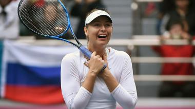 María Sharapova, tenista rusa.