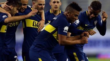 Elogian actuación de Fabra en triunfo del líder Boca en Argentina