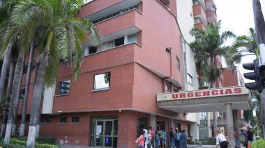 Entrada de urgencias de la Clínica General del Norte.