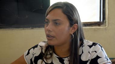 Stefany Ramírez Marín, madre del niño que murió.