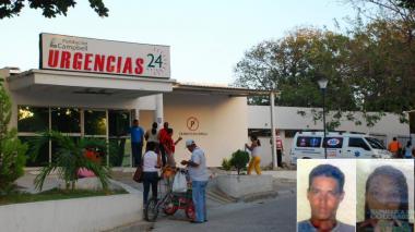 La mujer permanece en la clínica Campbell de Barranquilla.