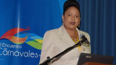 June Soomer, secretaria general de la Asociación de Estados del Caribe.