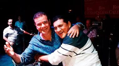 'Poncho' Zuleta canta reguetón junto a Iván Villazón y otros artistas vallenatos