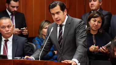 Rodrigo Lara, presidente de la Cámara de Representantes.