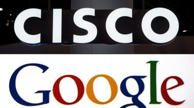 Google y Cisco se alían en el sector de la 'nube' para combatir a Amazon