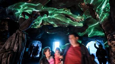 Descubren huellas de un nuevo dinosaurio cuatro veces más grande que un león
