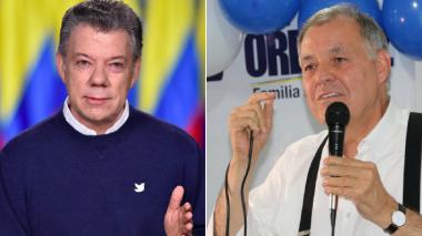 La llamada equivocada de Santos al exprocurador Ordóñez