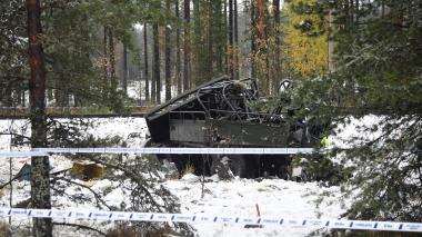 Cuatro muertos en el choque de un tren y un vehículo militar en Finlandia