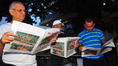 Lectores envían mensajes a EL HERALDO por sus 84 años
