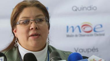 Alejandra Barrios, directora de la Misión de Observación Electoral.