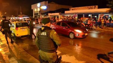 La Policía y el Ejército vigilarán las calles de Soledad.