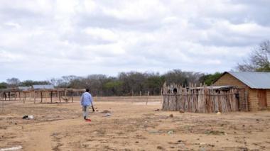 El norte de La Guajira, al que corresponde la imagen, es uno de los lugares más pobres del país. Sin embargo, según el informe de la Contraloría, esta región no tienen prioridad en la asignación progresiva de recursos del SGP.
