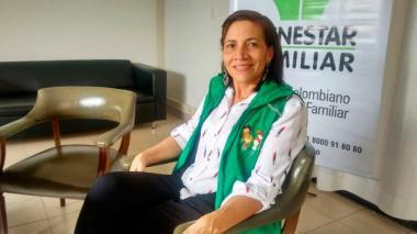 Gladys Caraballo Hernández, directora (e) del Icbf en Córdoba.