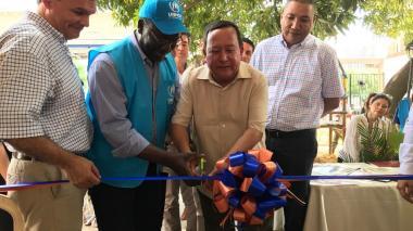 Inauguración del Centro de Migrantes y refugiados
