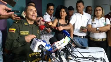 General Mariano Botero Coy, en rueda de prensa este miércoles.