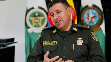 General Fernando Murillo, comandante del Gaula.