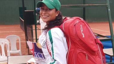 'Mafe' Herazo revalida su título en el ITF Femenino de Pereira