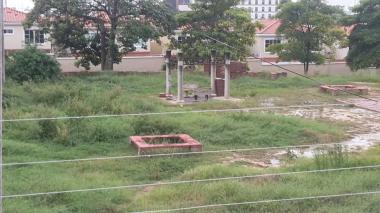 Denuncian lote abandonado en el norte de Barranquilla