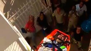 Tres heridos deja descarga eléctrica en Valledupar