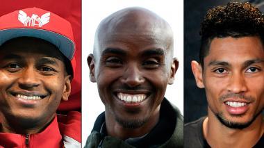 Farah, Van Niekerk y Barshim aspiran a suceder a Bolt como el atleta del año
