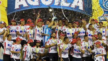 Junior, campeón de la Copa Águila
