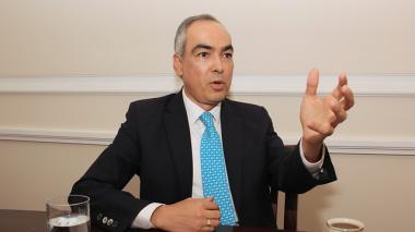El Alto Comisionado de Paz, Rodrigo Rivera.