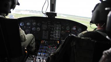 Aeronaves del CACOM-3 sobrevuelan Barranquilla en conmemoración de 98 años de FAC