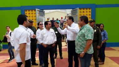 Minminas pasó revista en Cerro Matoso e inauguró CDI para 380 niños