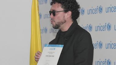 Andrés Cepeda ya es embajador de Buena Voluntad de Unicef