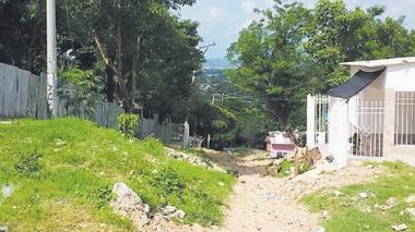 Calle 71 con carrera 16, barrio La Esmeralda.