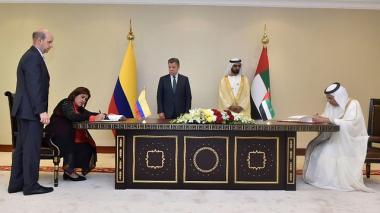 Colombia y Emiratos Árabes aprobarían vuelos directos