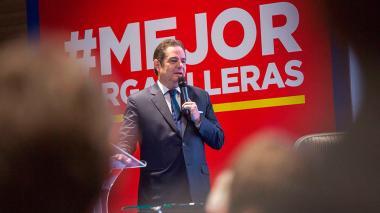 El candidato a la presidencia, Germán Vargas Lleras.c