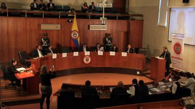 Audiencia pública en la Corte Constitucional