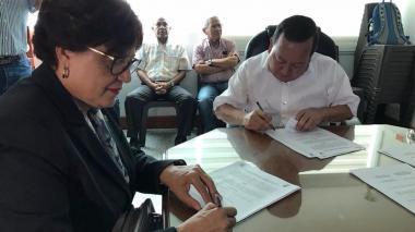 La Guajira y Curazao firman memorándum de entendimiento