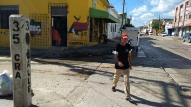 Asesinan a hombre con arma blanca en el barrio San Roque