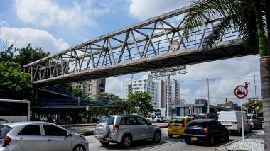 El puente frente a la Autónoma será derribado y no tendrá reemplazo
