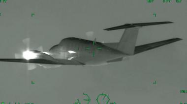 Aeronave que pretendía ingresar irregularmente al país fue inmovilizada por la FAC